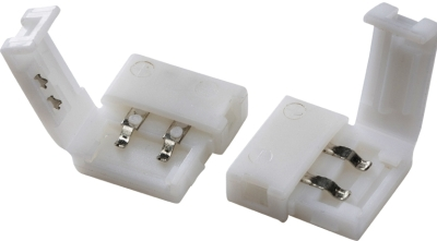 Pack of 2 Flex Connectors For Single Colour LED Strip 12/24V