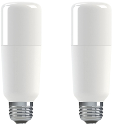 Pack of 2 GE LED BrightStik 16 Watt ES (100W Alternative - Cool White)