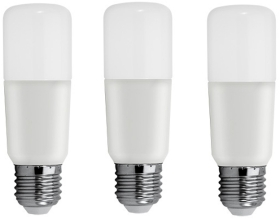 Pack of 3 GE LED BrightStik 10 Watt ES (60W Alternative - Warm White)