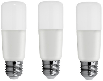 Pack of 3 GE LED BrightStik 6 Watt ES (40W Alternative - Warm White)