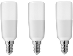 Pack of 3 GE LED BrightStik 7 Watt SES (45W Alternative - Cool White)