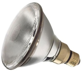 This is a 80W 26-27mm ES/E27 Reflector/Spotlight bulb that produces a Diffused light which can be used in domestic and commercial applications