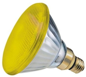 Par 38 80 watt Yellow