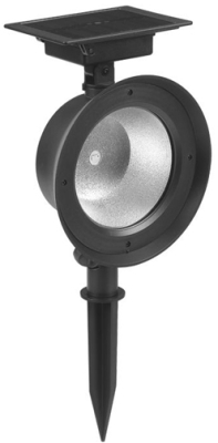 Pearl Grey Finish Solar LED Spot Light (Dual Mode)