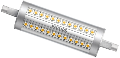 Philips Dimmable LED R7s 118mm 14 Watt Cool White (200w Alternative)