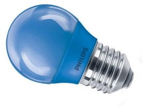 Philips LED Blue 3.1W 45mm Golfball ES