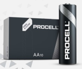 Procell AA Size Batteries (Pack of 10)