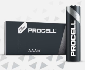 Procell AAA Size Batteries (Pack of 10)