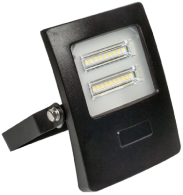 Prolite 10W IP65 LED Floodlight Daylight (100W Alternative - 1m Cable)