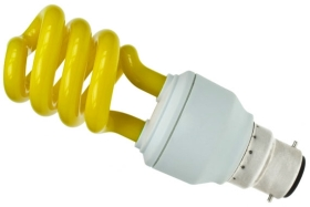 Prolite Energy Saving Spiral 15 Watt Yellow BC