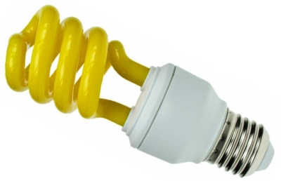 Prolite Energy Saving Spiral 15 Watt Yellow ES