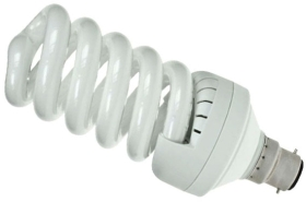 Prolite Energy Saving Spiral 30W Very Warm White BC (150 Watt Alternative)
