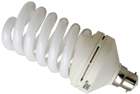 Prolite Energy Saving Spiral 55W Very Warm White BC (250 Watt Alternative)