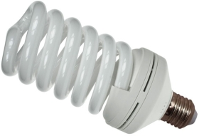 Prolite Energy Saving Spiral 55W Very Warm White ES (250 Watt Alternative)