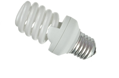 This is a 20W 26-27mm ES/E27 Spiral bulb that produces a Daylight (860/865) light which can be used in domestic and commercial applications
