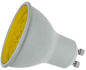 Prolite LED Non-Dimmable GU10 7 Watt Amber (50 Watt Alternative)