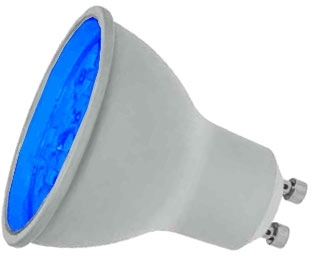 Prolite LED Non-Dimmable GU10 7 Watt Blue (50 Watt Alternative)