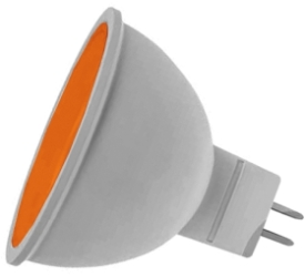 Prolite LED Non-Dimmable MR16 7 Watt Amber (50 Watt Alternative)
