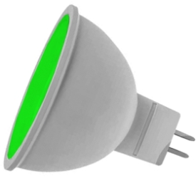 Prolite LED Non-Dimmable MR16 7 Watt Green (50 Watt Alternative)