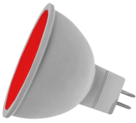 Prolite LED Non-Dimmable MR16 7 Watt Red (50 Watt Alternative)