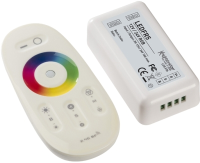 RF Touch Controller and Remote For RGB LED Strip (12/24v)