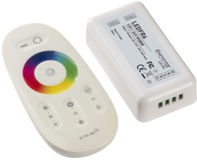 RF Touch Controller and Remote For RGBW LED Strip (12/24v)