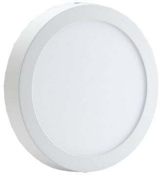 Red Arrow 15W IP44 Round Mini LED Panel Cool White