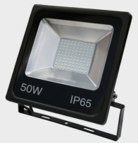 Red Arrow 50W IP65 Black SMD LED Floodlight Daylight