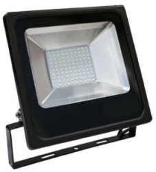 Red Arrow 50W IP65 Black SMD LED Floodlight With Photocell Sensor Daylight (400W Equivalent)