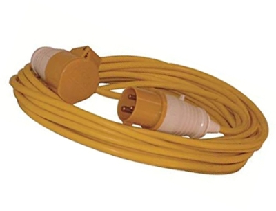Red Arrow IP44 110V 14M Yellow Cable