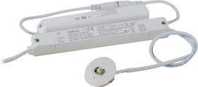 Robus DESMOND 1.5W Non-Maintained 37mm Emergency White LED Downlight with Corridor Lens