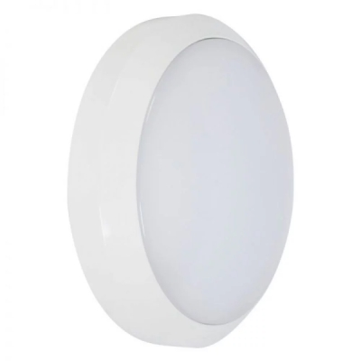 Robus 'Eagle' 24W White Emergency Circular LED Bulkhead Cool White