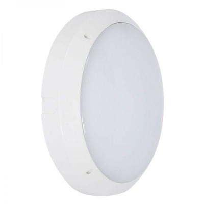 Robus 'Hawk' 14W LED Emergency Circular Bulkhead IP65 Cool White