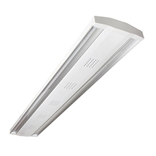 Robus 'Kingston' White 120W American Daylight Dimmable LED Low Bay IP20