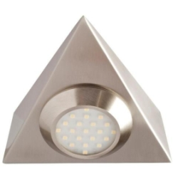 Robus 'Prism' 2 Watt Triangular Cabinet Light Warm White
