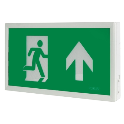 Robus 'Rex' Maintained Slim Exit Box (Includes UP, DOWN, LEFT & RIGHT Legends)