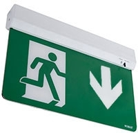 Robus SWISS 1.5W Standard Maintained Emergency Exit Blade Light DOWN