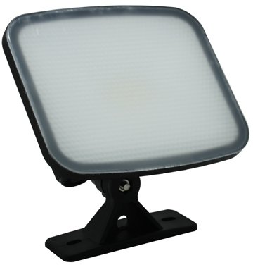 SOBRITE Flexistar 10W 700lm LED Warm White Floodlight IP65 Black
