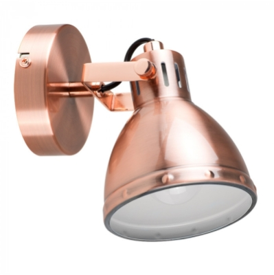 Satin Copper Portishead Spotlight Copper/Chrome