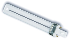 This is a 9 W G23 Multi Tube bulb that produces a Cool White Deluxe light which can be used in domestic and commercial applications