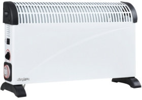 Stirflow 2000W Metal Convector Heater with Timer Function