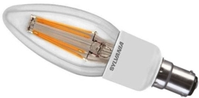 Sylvania Dimmable LED Filament 4.5W SBC Candle (40 Watt Alternative)