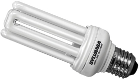 Sylvania Energy Saving Mini 20W PLEQ Lamp ES Warm White (100 Watt Alternative)