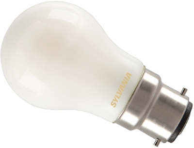Sylvania LED 4W BC Very Warm White Golfball (35W Alternative) Frosted