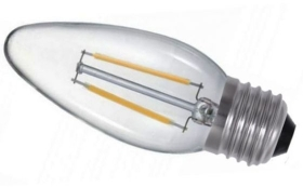 Sylvania LED Filament Dimmable 4.5 Watt Candle ES (40 Watt Alternative)