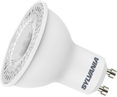 This is a 5 W GU10 bulb that produces a Very Warm White (827) light which can be used in domestic and commercial applications