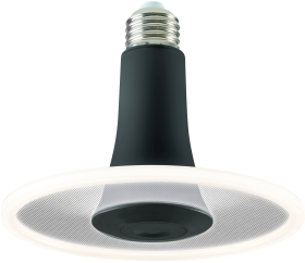Sylvania ToLEDo Radiance Black Dimmable 650lm Cool White E27