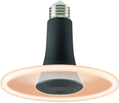 Sylvania ToLEDo Radiance Black Dimmable 650lm Very Warm White E27