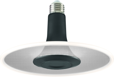 Sylvania ToLEDo Radiance Black Dimmable 850lm Cool White E27