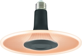 Sylvania ToLEDo Radiance Black Dimmable 850lm Very Warm White E27
